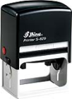 "Shiny S-829 Self-Inking Stamp<BR>Impression Area: 1-9/16"" x 2-1/2"""