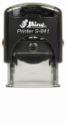 "Shiny S-841 Self-Inking Stamp<BR>Impression Area: 3/8"" x 1"""