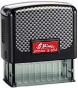 Shiny S-854 Custom Self-Inking Stamp